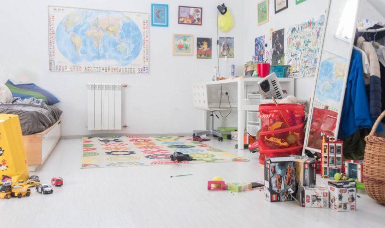 Pomysł na urządzenie pokoju dziecięcego